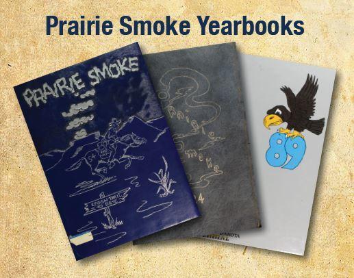 Prairie Smoke Yearbooks.JPG