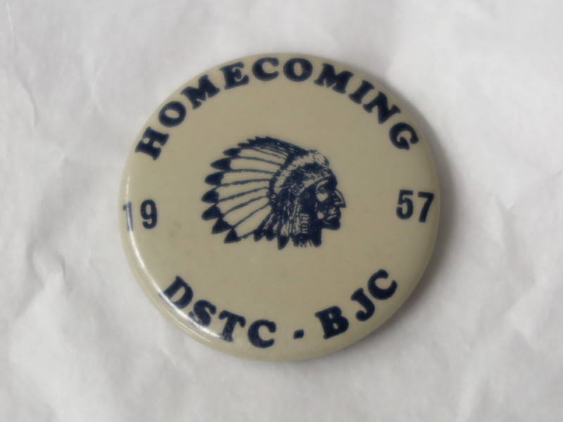 Homecoming Button - 1957.JPG