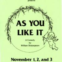 1985-1986 As You Like It - PROGRAM.pdf