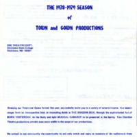 1978-1979 Season Town and Gown Productions - PROGRAM.pdf